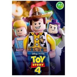 Oblea Toy Story Rectangular para tarta Nº 607