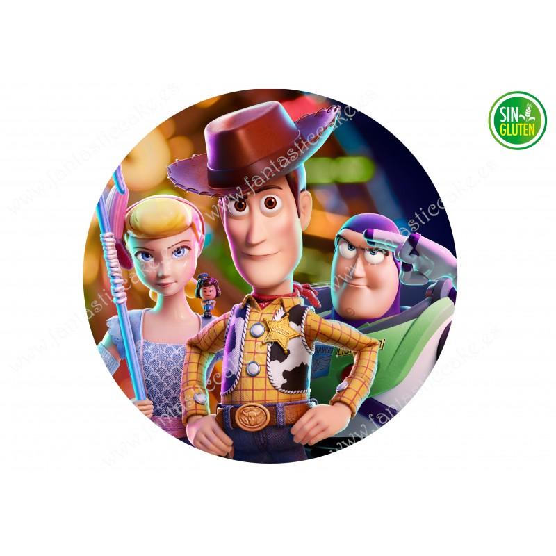 Oblea Redonda Toy Story Nº 608