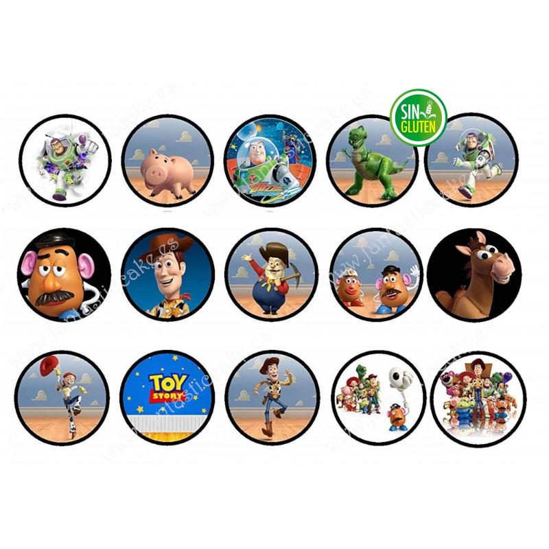 Obleas de Toy Story para galleta Nº 609