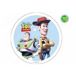 Oblea para tarta redonda Toy Story Nº 611