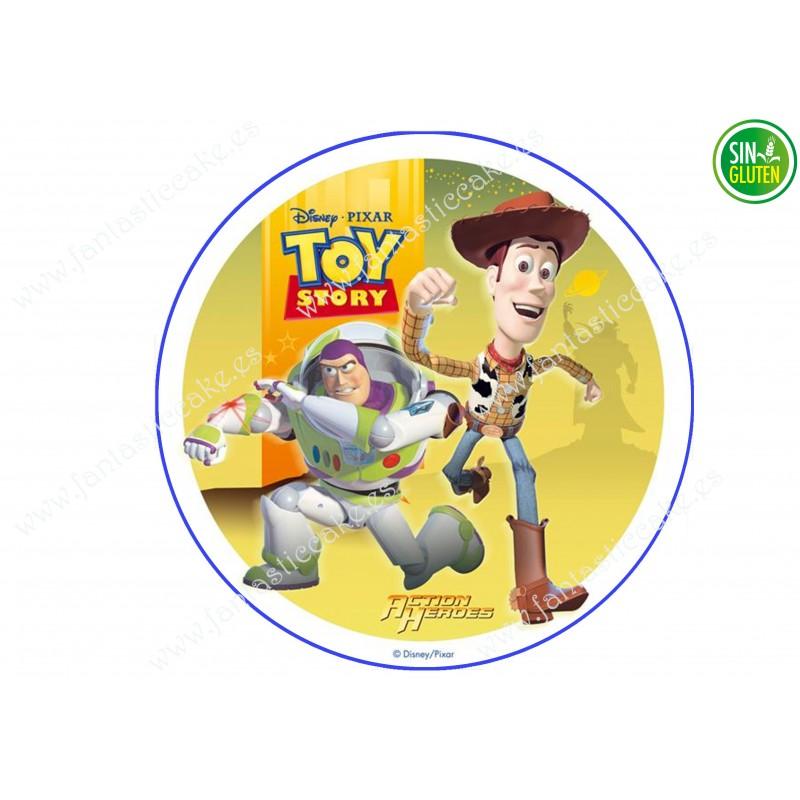 Oblea de Toy Story redonda para decorar tartas Nº 612