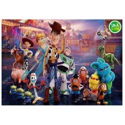 Oblea para tarta Rectangular Toy Story 4 Nº 613