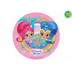 Shimmer & Shine, Obleas para tarta Nº 601
