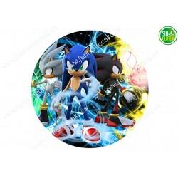 Obleas Sonic para tarta Nº 602
