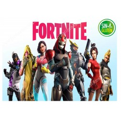 Fortnite, Oblea para tarta rectangular Nº 623
