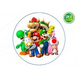 Mario Bross, Oblea para tarta Nº 626