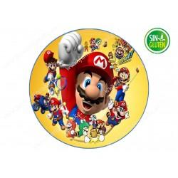 Oblea Mario Bross para tarta Nº 627