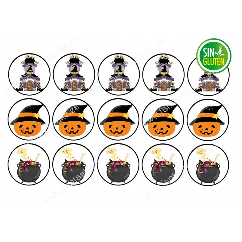 Oblea para galletas Halloween Nº 633