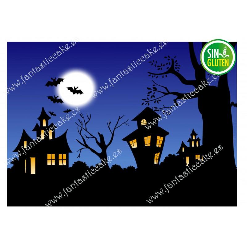 Oblea Casa embrujada Halloween Nº 636