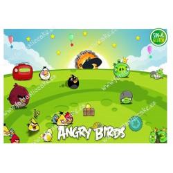Oblea Angry Birds...