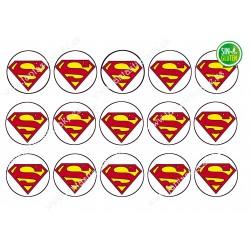 Obleas Superman para Galletas Nº 650