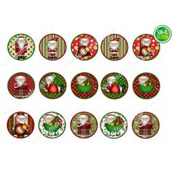 Obleas Navidad para Galletas Nº 651