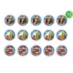 Navidad, Obleas para Galletas Navidad Nº 656