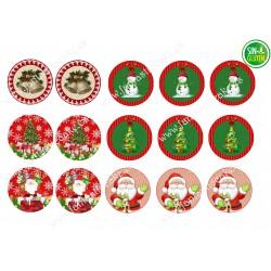 Papel de azúcar Navidad para Galletas Nº 661