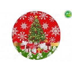 Oblea Árbol de Navidad para tartas Nº 669