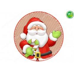 Oblea para tartas Papá Noel Nº 673
