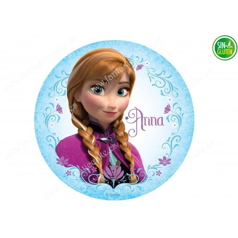 Oblea Frozen - Anna Nº 674
