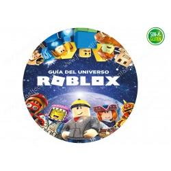 Roblox, Oblea para tartas sin gluten Roblox Nº 720