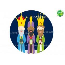 Oblea Reyes Magos para tartas Nº 725