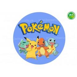 Oblea comestible Pokémon Go para tarta Nº 732