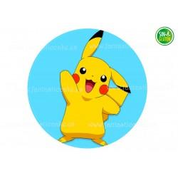 Oblea Pikachu para tarta Nº 733