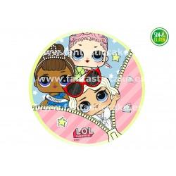 Oblea Bubble Guppies Nº 2