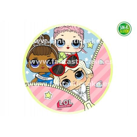 Oblea Bubble Guppies Nº 67