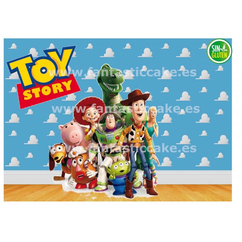 Oblea Toy Story para tarta Rectangular Nº 739