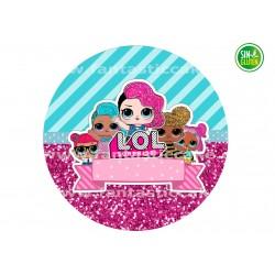 Obleas tarta LOL Surprise Nº 745