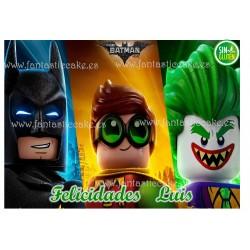 Oblea Batman, Jocker Lego para tarta Nº 753