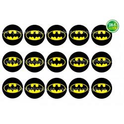 Obleas Batman para Galletas Nº 755