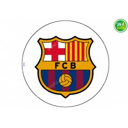 Oblea para tarta Fútbol Club Barcelona Nº 160
