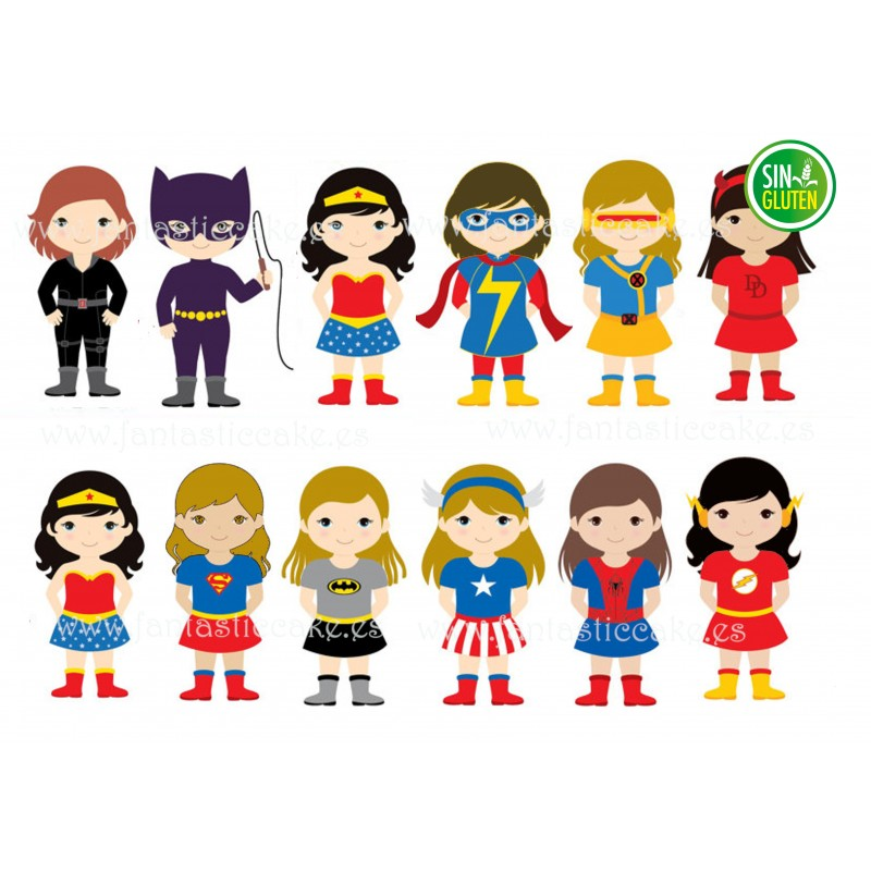 Oblea Super Hero Girls Nº 760