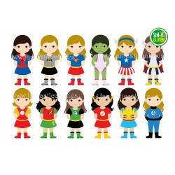 Oblea Super Hero Girls Nº 761