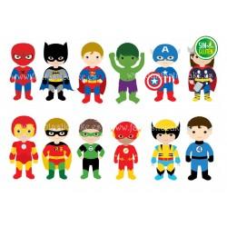 Oblea Super Héroes  Nº 762
