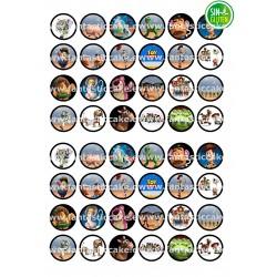Oblea para Minioreos Toy Story Nº 767