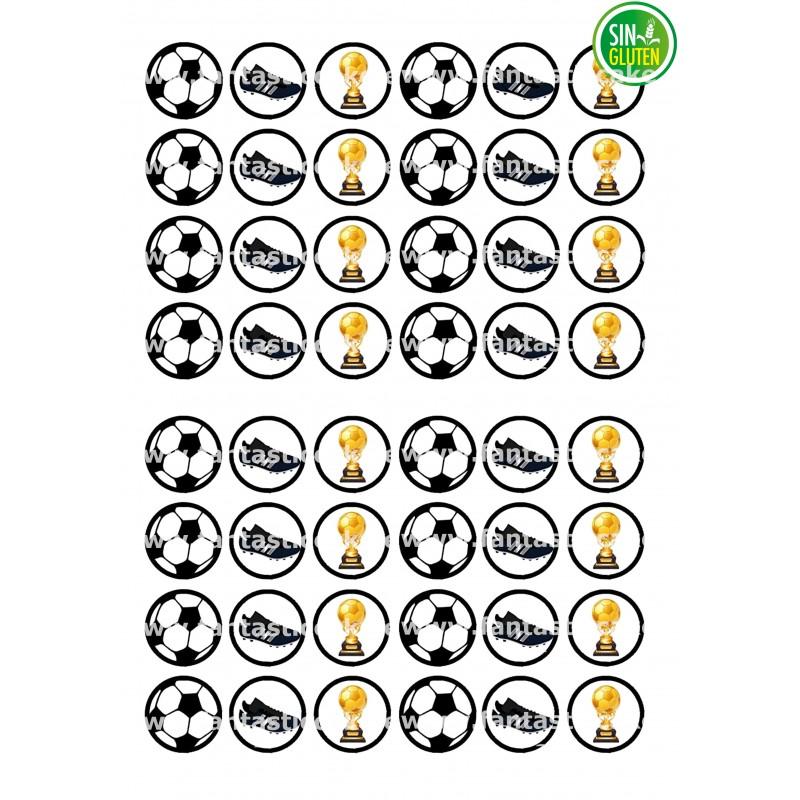 Oblea para Minioreos Fútbol Nº 770