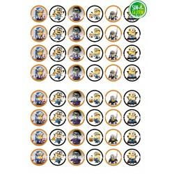 Oblea para Minioreos Los Minions Nº 771