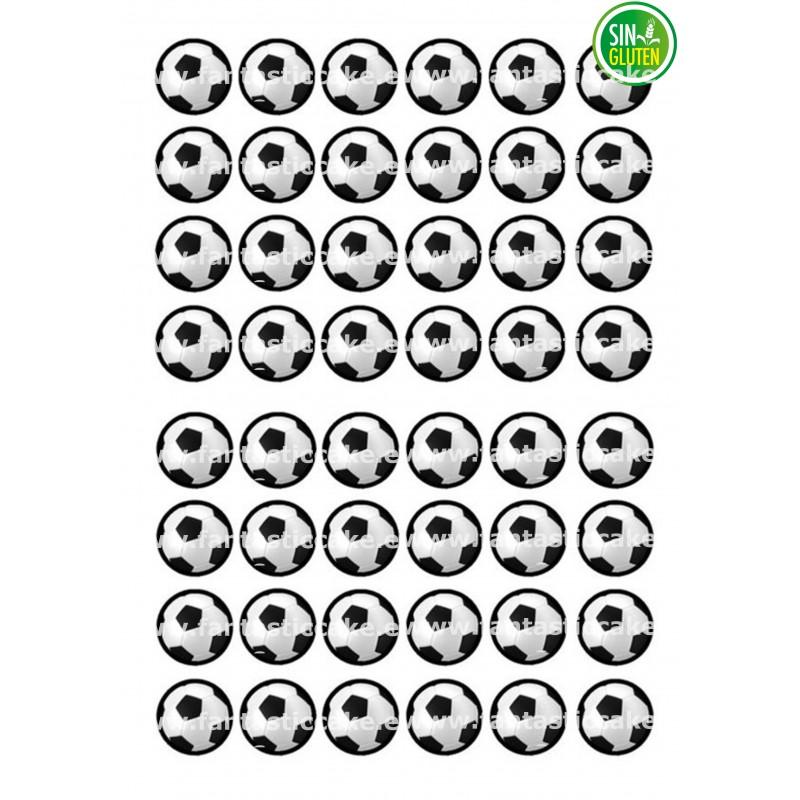 Oblea para Minioreos Balones de Fútbol Nº 772