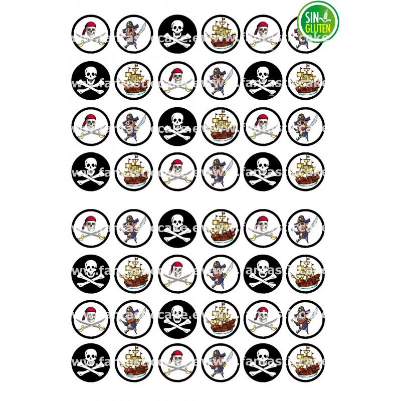 Oblea para Minioreos Piratas Nº 775