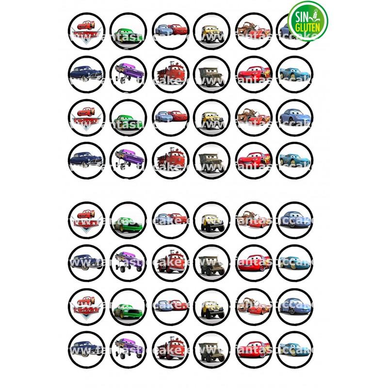 Oblea para Minioreos Cars Nº 785