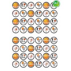 Oblea para Minioreos Baloncesto Nº 787