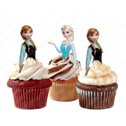 Toppers Anna y Elsa Frozen
