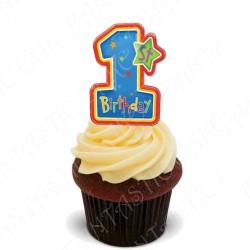 Toppers Cumpleaños Nº 1