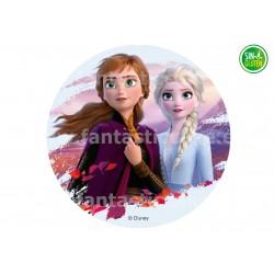 Oblea de Frozen 2 Anna y Elsa Nº 795
