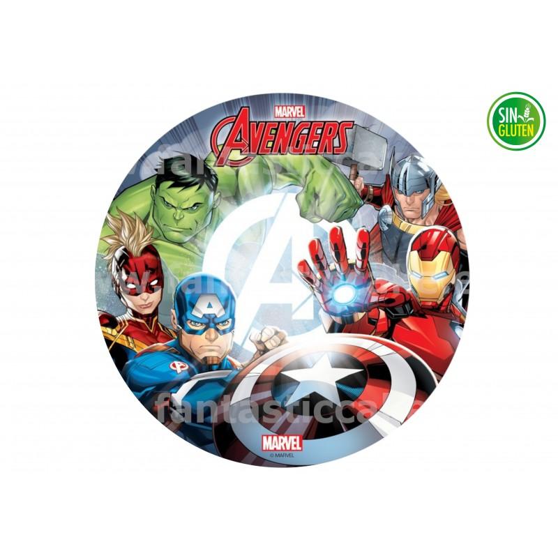 Oblea Los Vengadores  para tarta Nº 793