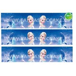 Papel de azúcar Frozen Nº FJ1