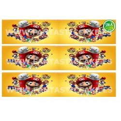 Cenefas - Papel de azúcar Mario Bross Nº FJ9