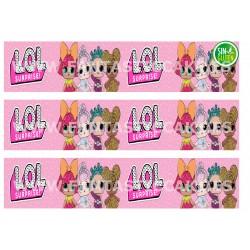 Cenefas - Papel de azúcar LOL Nº FJ15