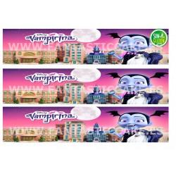 Cenefas - Papel de azúcar Vampirina Nº FJ17